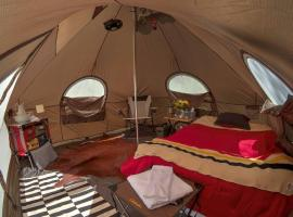 Arizona Luxury Expeditions - Grand Canyon, luxury tent in Tusayan