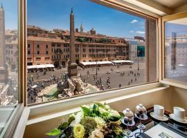 Eitch Borromini Palazzo Pamphilj, hotel near Palazzo Venezia, Rome