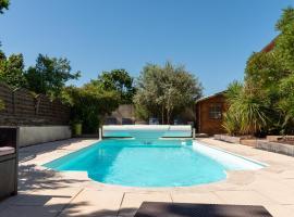 L'Or Azur, Jacuzzi privé et piscine chauffée, holiday home in Carcassonne