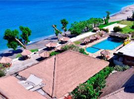 Pasific Beach Cottages, hotel in Senggigi