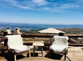 MY MOUNTAIN CHALÊT - Panoramic View Serra da Estrela, cabin in Covilhã