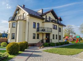 Willa Pionier, family hotel in Jastrzębia Góra