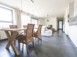 Nieuwbouw appartement op toplocatie met zongericht terras, accessible hotel in Nieuwpoort
