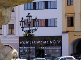 Penzion Menšík, hotel in Kroměříž