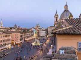 Presidential Penthouse Navona, hotel con jacuzzi en Roma