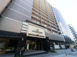 APA Villa Hotel Osaka-Tanimachi 4 Chome-Ekimae, Apa hotel in Osaka