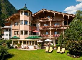 Hotel Garni Glockenstuhl, hotel Mayrhofenben
