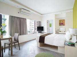 Eaton Residences, Village Road, serviced apartment in Hong Kong