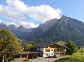 Hotel Garni Luggi Leitner, Pension in Mittelberg