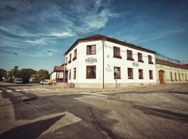 Restaurace a Penzion Praha, hotel v destinácii Dolní Dunajovice