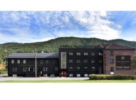 Frøken Skjolds Hotel Lyngengården, hotel in Mosjøen