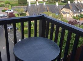 Appartement vue mer, budget hotel in Villers-sur-Mer