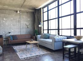 City Loft w/ View of Gay St, apartment in Knoxville