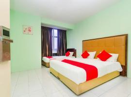 OYO 624 Aero Hotel, hotel near Senai International Airport - JHB,