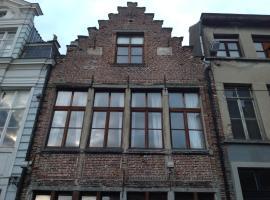 Geldmunt Apartment, huisdiervriendelijk hotel in Gent