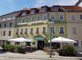 Hotel Evabrunnen, Hotel in Bischofswerda