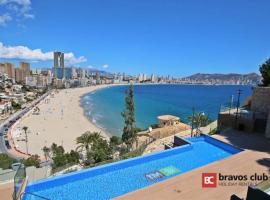 La Ermita 7 by Bravos Club, hotel con jacuzzi en Benidorm