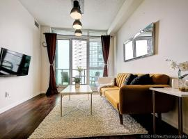 Instant Suites- Luxurious 1BR in Heart of Downtown with Balcony, apartment in Toronto