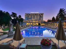 Hotel President Terme, отель в Абано-Терме