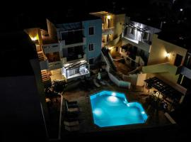 Sandika apartments, hotel with pools in Hersonissos
