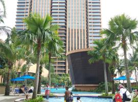 KL Best Apartment At Times Square, hotel near Dinner In The Sky Malaysia, Kuala Lumpur