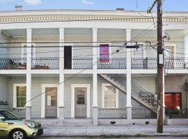 The Montgomery Apartments on Magazine Street, apartment in New Orleans