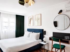 Hotel Rendez-Vous Batignolles, hotel a París