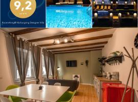 Rooms4ring@ Nürburgring Designer Villa, hotel in Adenau