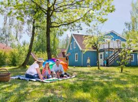 Müritzparadies, holiday home in Boek