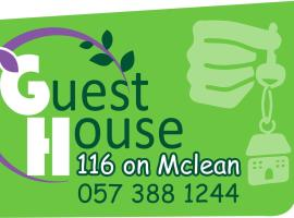 GUEST HOUSE 116, hotel in Welkom