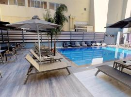 Medusa Apartments, hotel with pools in Rethymno Town