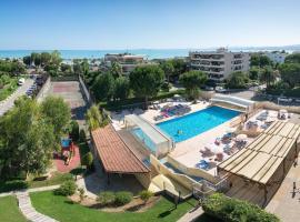 Résidence Pierre & Vacances Heliotel Marine, hotel in Saint-Laurent-du-Var