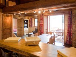 Chalet l'aubépine résidence B&B, cabin in Bessans