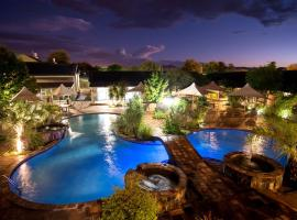 Arebbusch Travel Lodge, glamping site in Windhoek