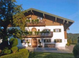 Goaßreiter Hof, farm stay in Siegsdorf