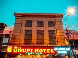 Sri Udupi Hotel, hotel near Thiruvananthapuram International Airport - TRV, Trivandrum