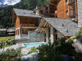 Alagna Mountain Resort & SPA, hotell i Alagna Valsesia