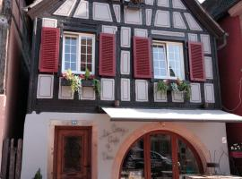 Appartement Louise avec Balcon, hotel in Kaysersberg