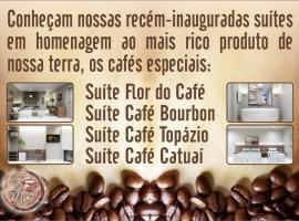 Café Palace Hotel, hotel v mestu Três Pontas
