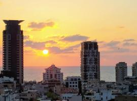 Charming Boutique Studio in the heart of Tel Aviv, מלון בתל אביב