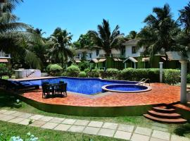White Square Nirvana, hotel with pools in Mapusa