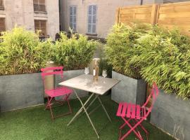 Studio au calme avec terrasse Centre Historique, apartment in Avignon