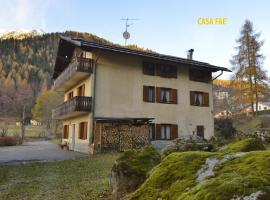 Casa Faè, apartment in Madonna di Campiglio