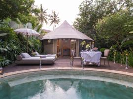 Sandat Glamping Tents, luxury tent in Ubud