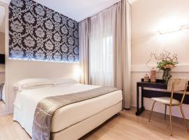 Hotel Villa Rosa Riviera, отель в Римини