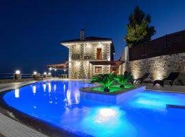 Villa Oneiro Luxury Home ~ Nature, Serenity, View, hotel with pools in Ierápetra