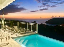 villa with pool and sea view (MQAA16), Villa in Les Anses-d'Arlets