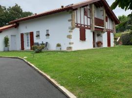 Villa Les Hortensias B&B, hôtel à Arcangues