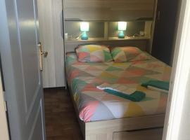 charmant studio alcôve à balaruc les bains 2 étoiles, apartment in Balaruc-les-Bains