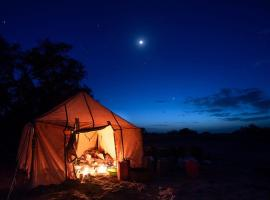 Nofa Camp, luxury tent in Mhamid